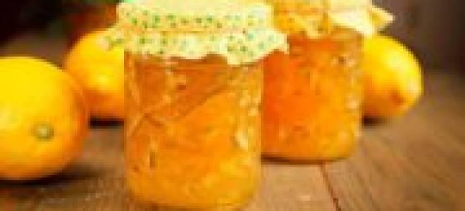Как сварить варенье из лимона рецепт