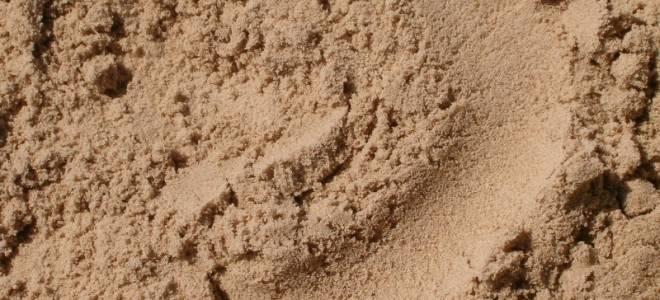 Речной песок для огорода
